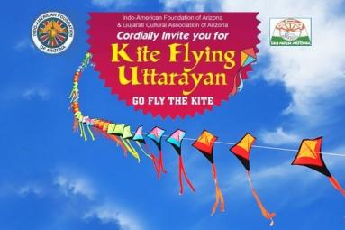 Kite Flying Uttarayan