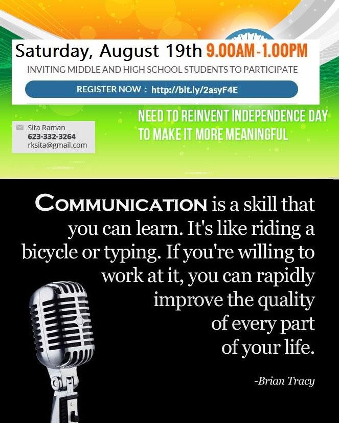 Public Speaking Flyer