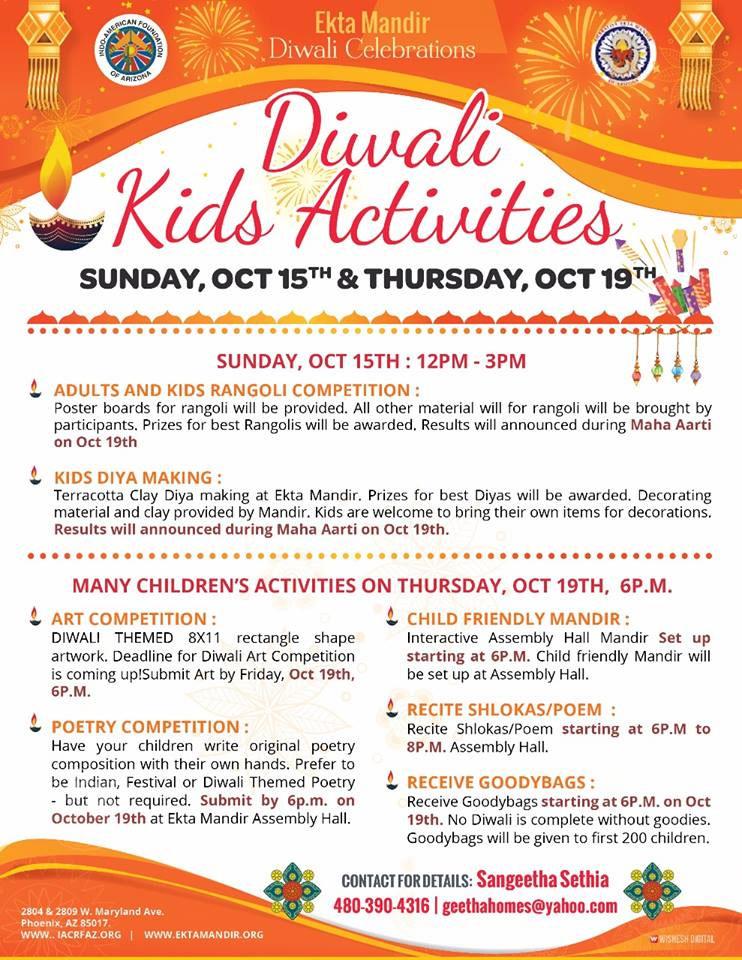 Diwali Kids Activities