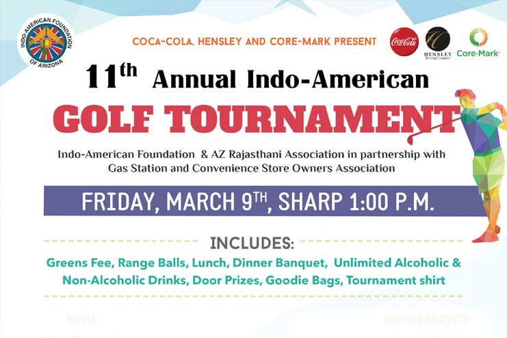 11th Annual Indo-American Golf Tournament in Whirlwind ...