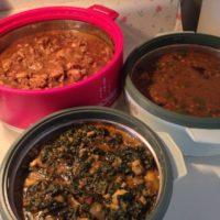 Fresh home made vegetarian and non-vegetarian food